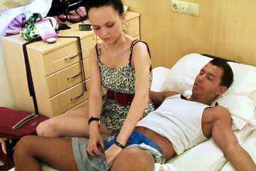 Wild vacation sex in Turkey: Day 4 - Crazy hotel sex games after night club, part 2