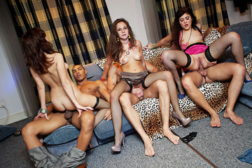 Totally insane group orgy movie, part 4